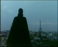 Fantômas overlooking Paris