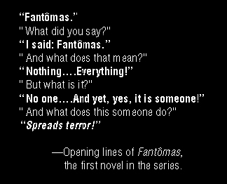 Who Is Fantomas